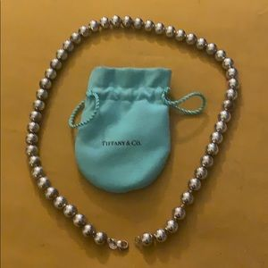 Tiffany's Silver Ball Necklace